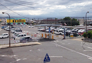 Suzaka station square parking