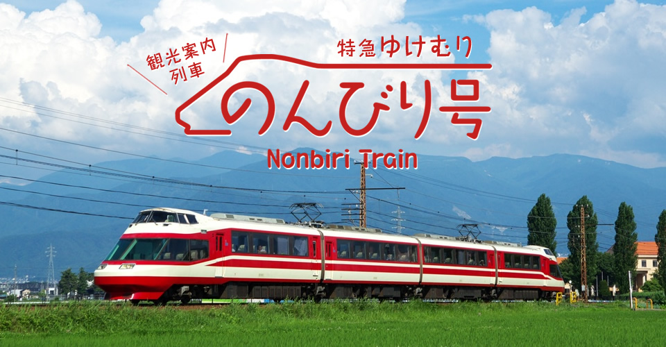 "Sighet-seeing train ""Express YUKEMURI - Nonbiri Train ~"""