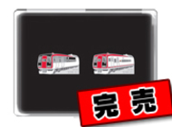 平成24年「2100系スノーモンキー塗装変更記念ピンバッチセット」 (シリアルナンバー入り)