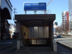 市役所前站