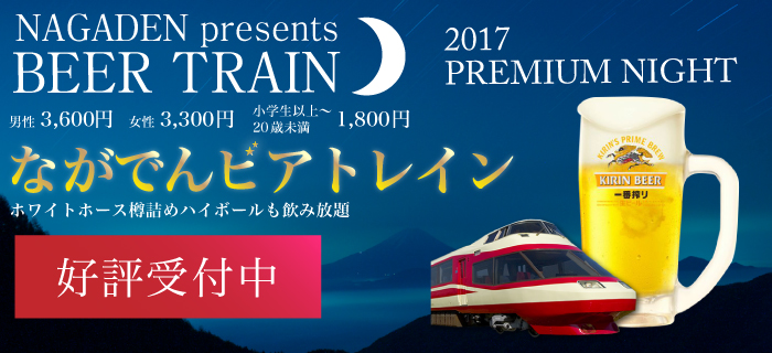 Let's drink by train in 2017 beer train this summer!