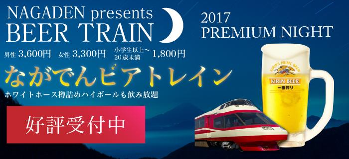 2017啤酒列车今年的夏天,喝坐地铁吧!!